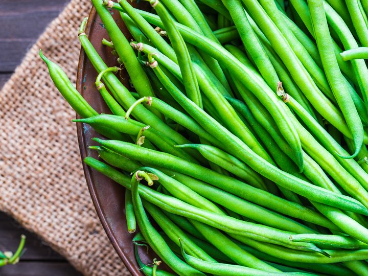 Cheese Baked Green Beans