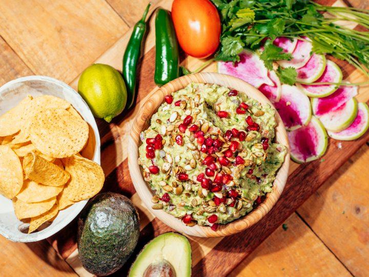 Homemade Organic Guacamole